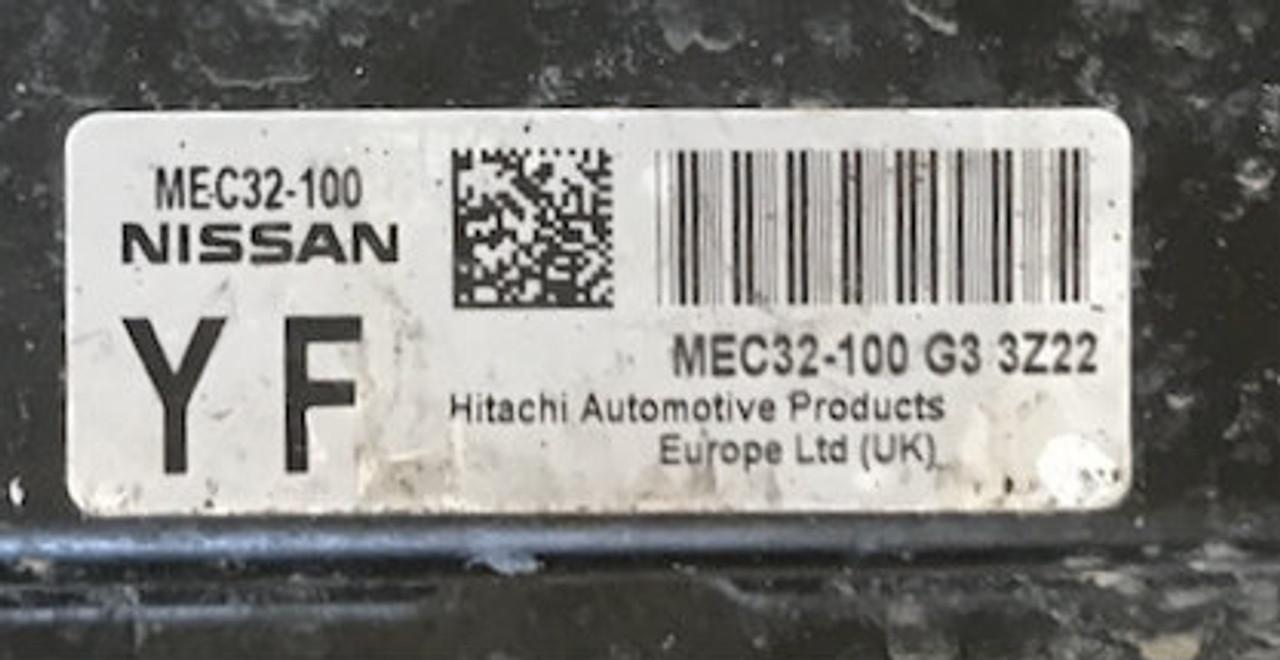 Nissan, MEC32-100 G3, YF