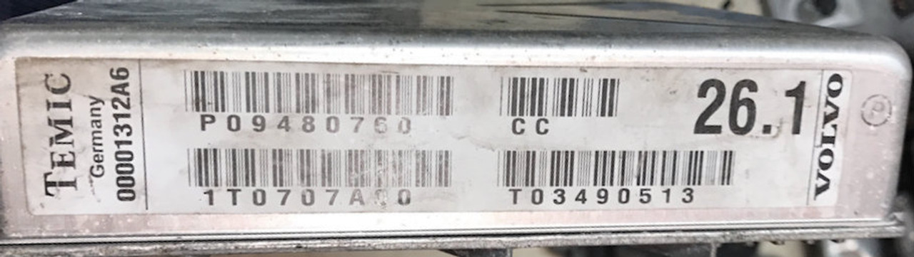 TEMIC, 00001312A6, P09480760, 26.1