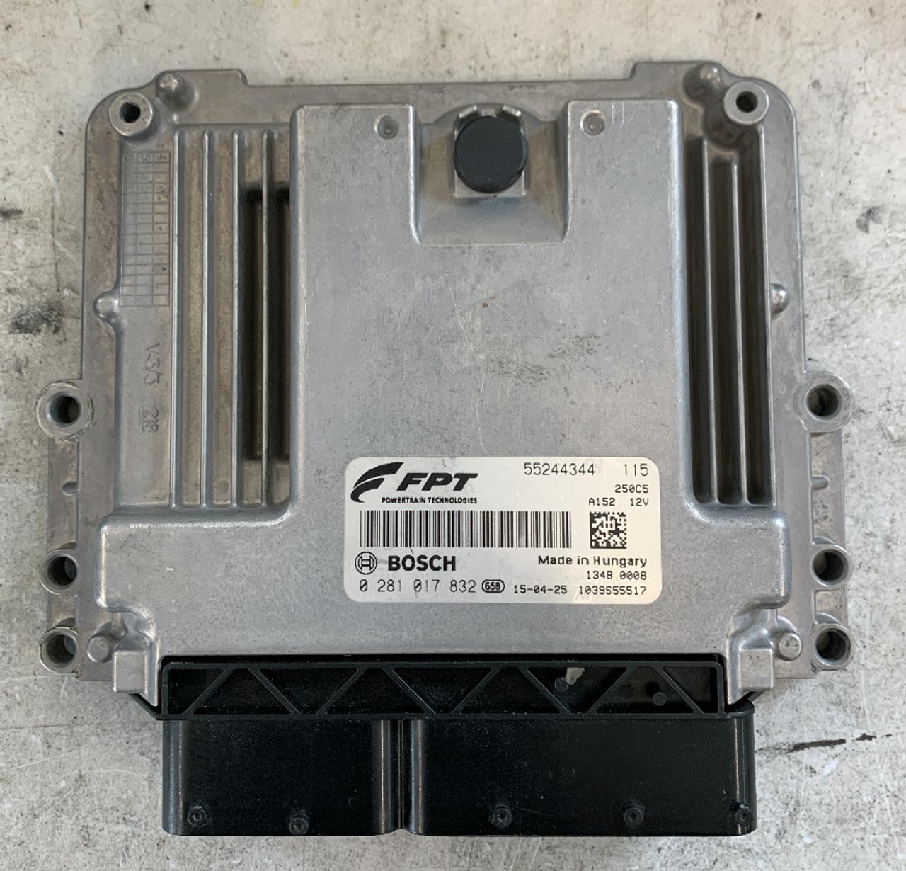 Bosch Engine ECU, Fiat Ducato 115, 0281017832, 0 281 017 832, 55244344, 1039S55517