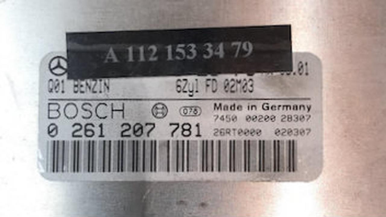 Mercedes-Benz, 0261207781, 0 261 207 781, A1121533479, A 112 153 34 79