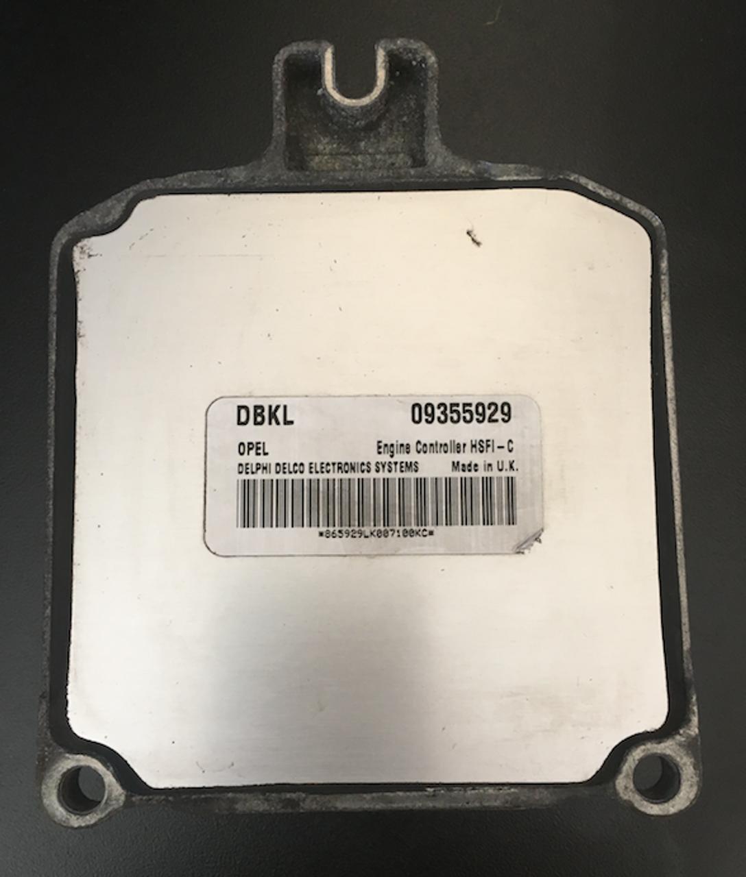 Vauxhall, 09355929,DBKL, HSFI-C