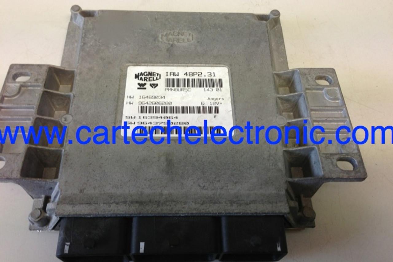 Peugeot / Citroen, IAW 48P2.31, HW 16469034, HW 9642606280, SW 16394064, SW 9643790280