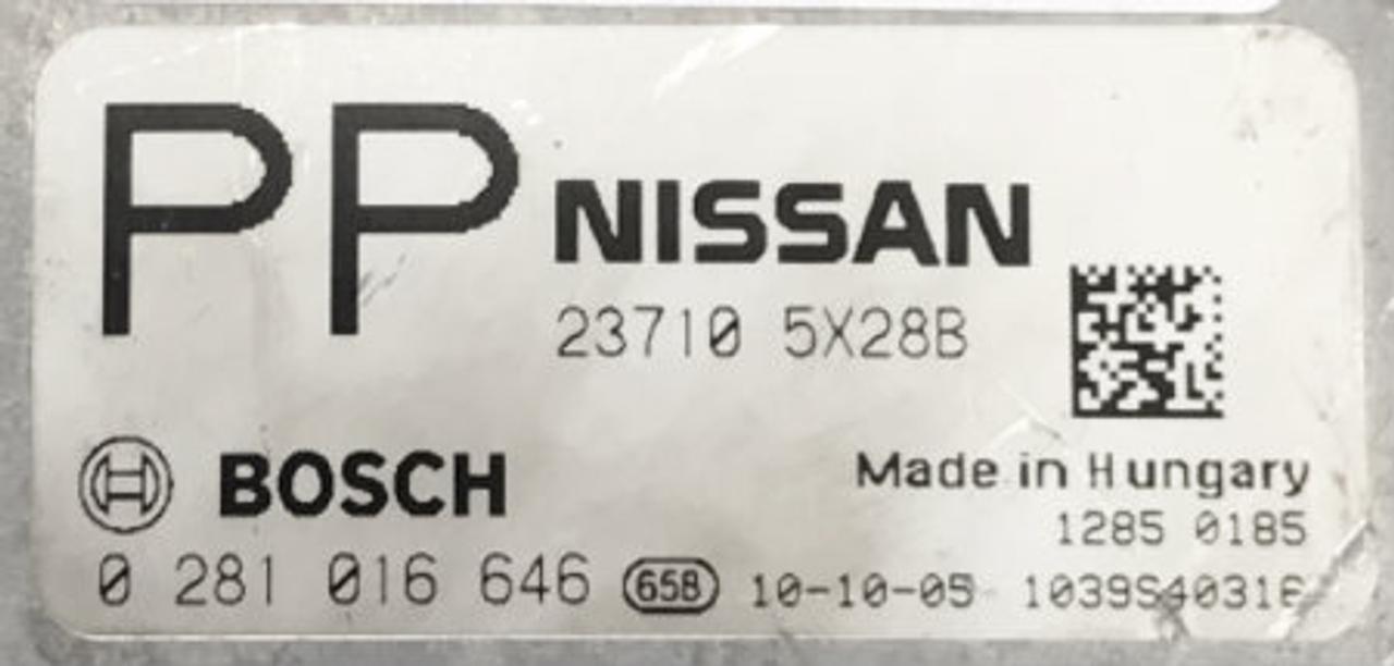 Nissan Pathfinder Ecu Reset