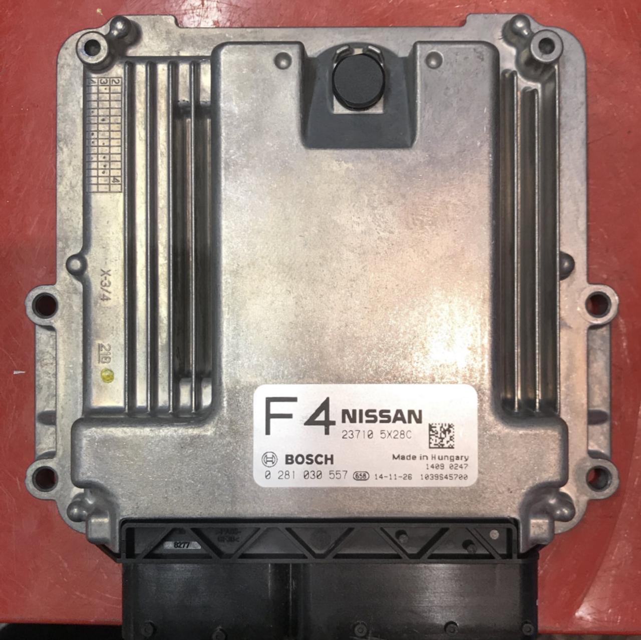 Plug & Play Bosch Engine ECU, Nissan Navara / Pathfinder 3 0 dCi,  0281030557, 0 281 030 557, 23710 5X28C