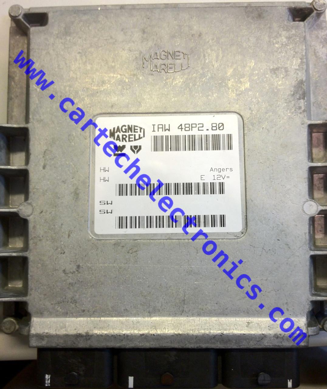 Citroen Saxo VTS / Peugeot 106 GTi 1.6 16v, IAW 48P2.80, HW 16.455.034, HW 9642774380, SW 16.448.064, SW 9647558780