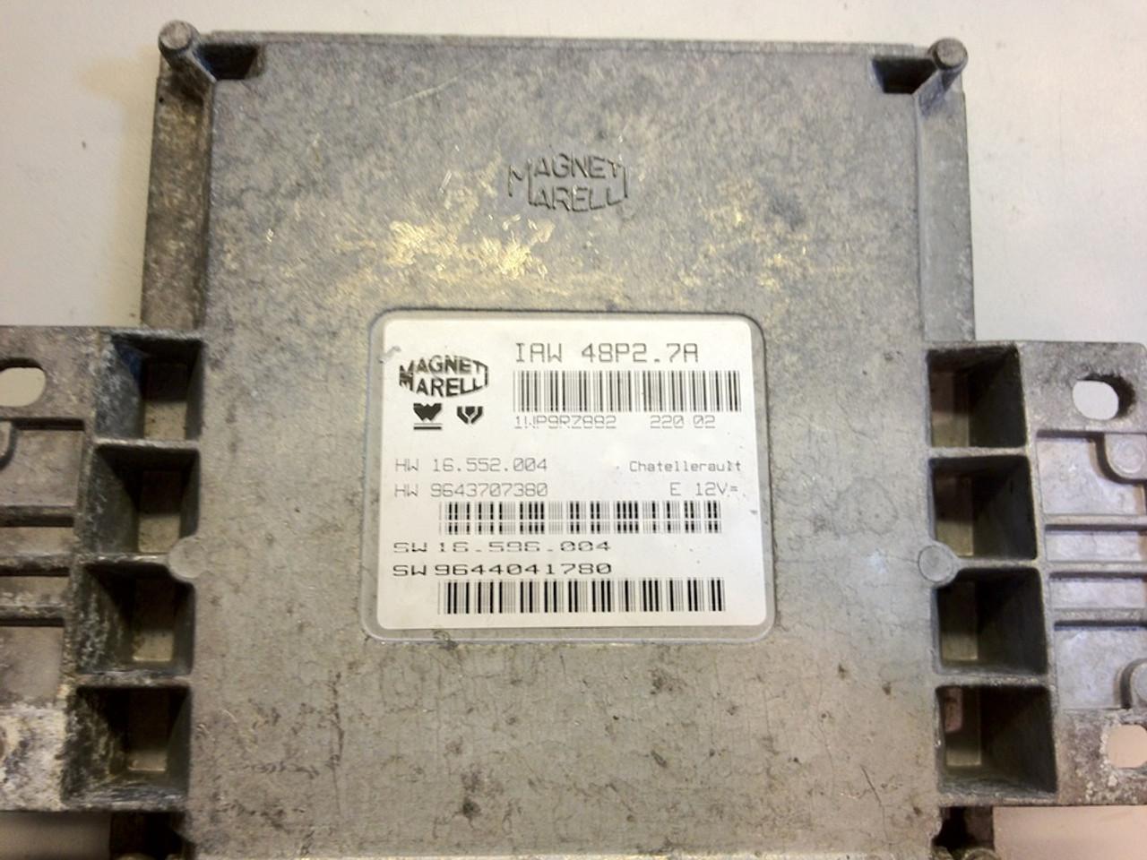 Magneti Marelli, IAW 48P2.7A, HW 16.552.004, HW 9643707380, SW 16.596.044, SW 9644041780