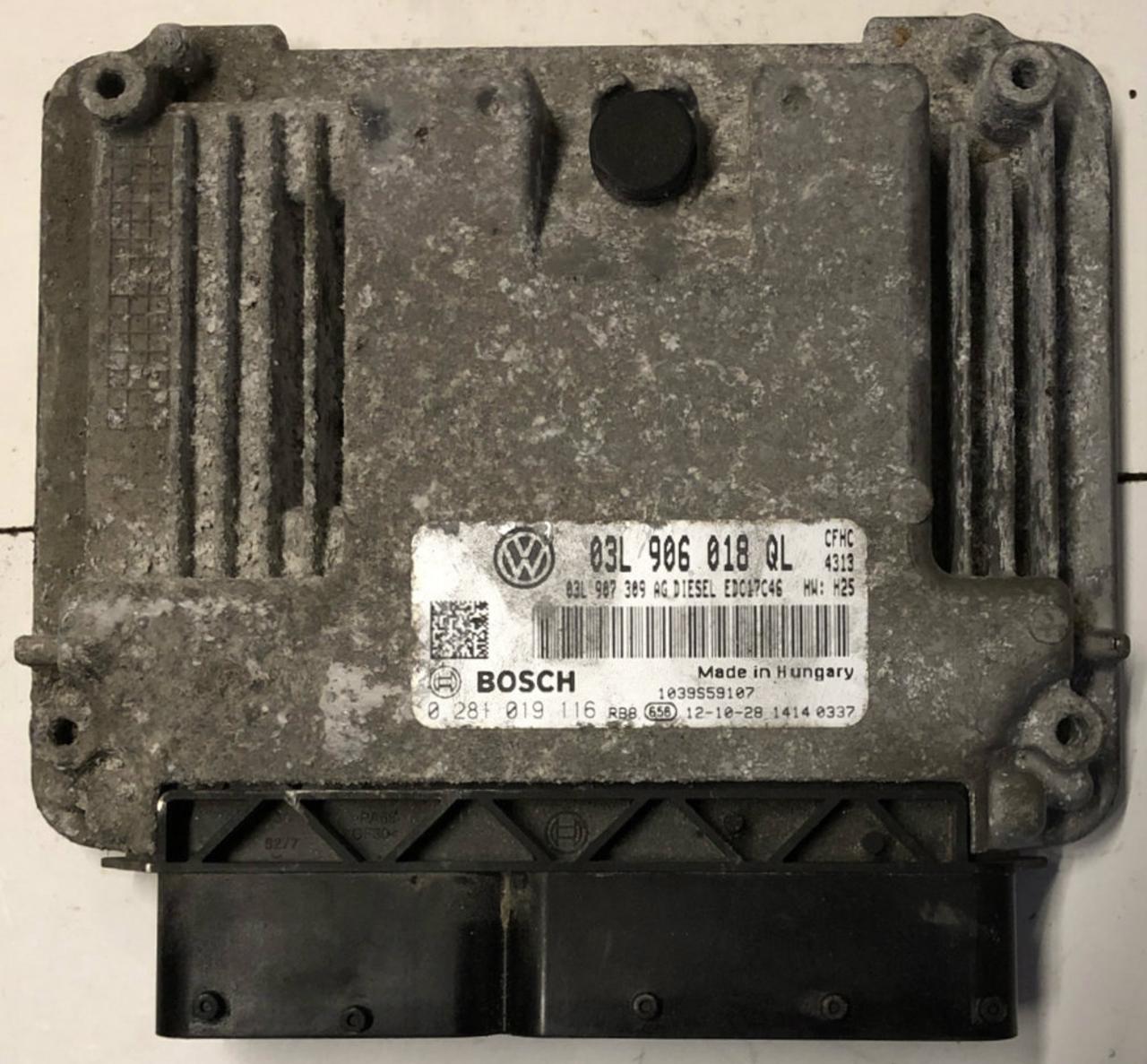 Skoda Yeti 2.0 TDI 4x4, 0281019116, 0 281 019 116, 03L906018QL, 03L 906 018 QL