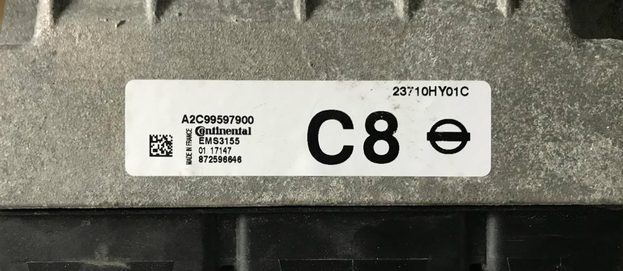 Plug & Play Continental Engine ECU, NISSAN, A2C99597900, 23710HY01C,  EMS3155, C8