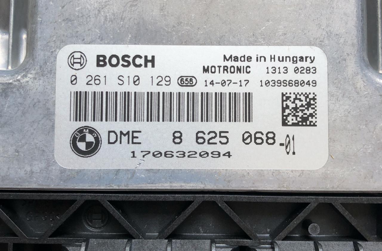 BRAND NEW Plug & Play Bosch Engine ECU, BMW Mini One / Cooper 1 6L,  0261S10129, 0 261 S10 129, DME8625068, DME 8 625 068