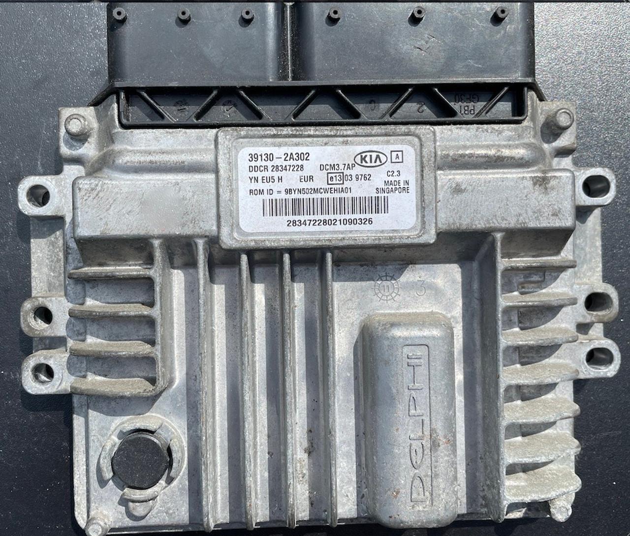 Delphi Engine ECU, KIA, 39130-2A302, 28347228, DCM3.7AP