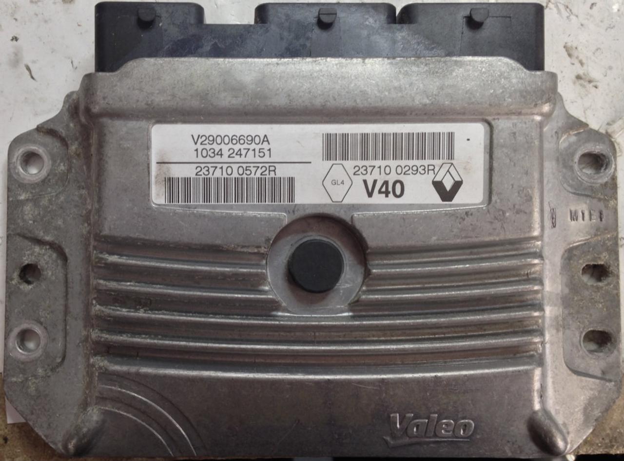 Plug & Play Valeo Engine ECU, Renault Scenic 1 4, V29006690A, 237100572R,  23710 0572R, 23710293R, 23710 0293R, V40