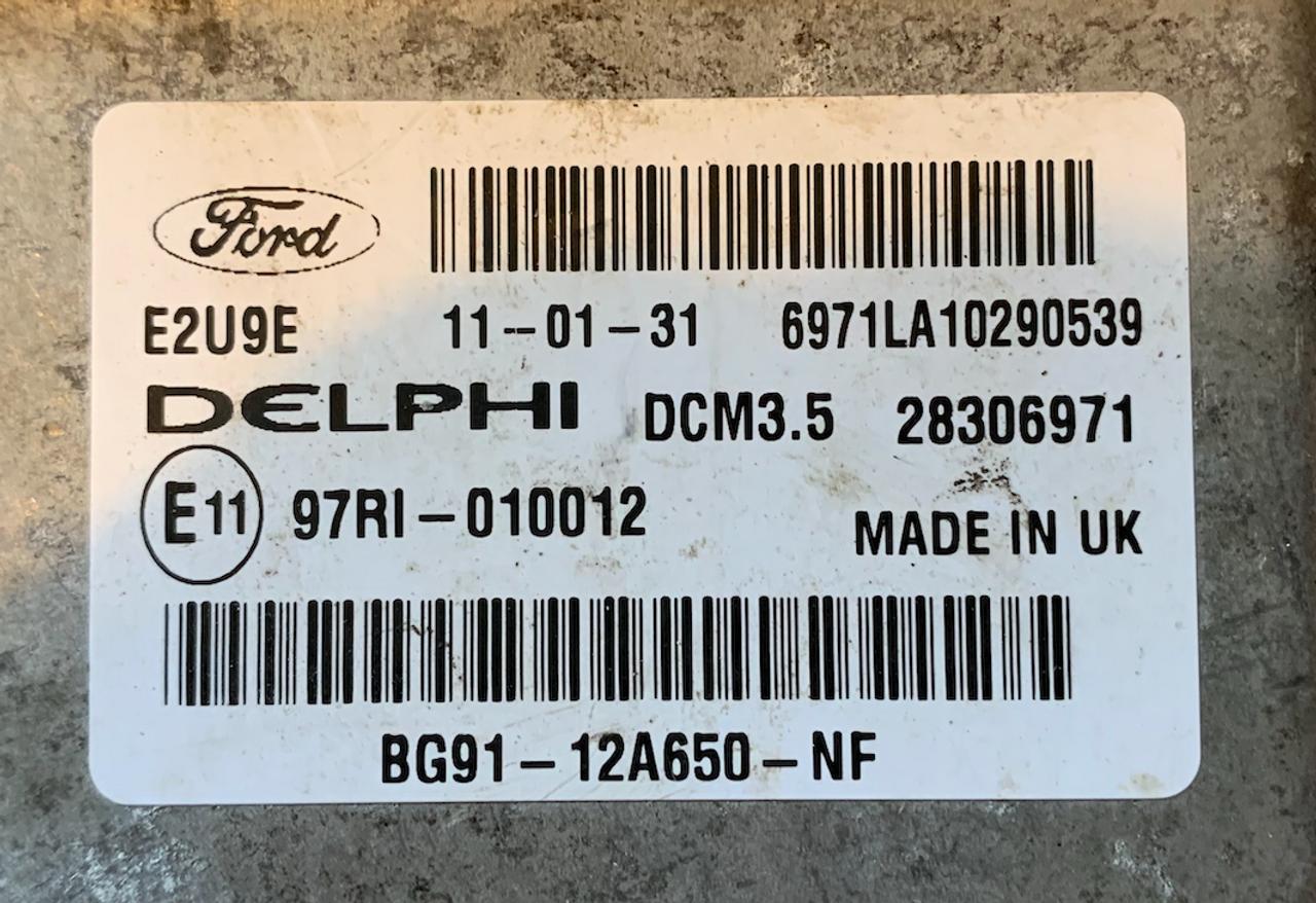 Ford, BG91-12A650-NF, 28306971, DCM3.5