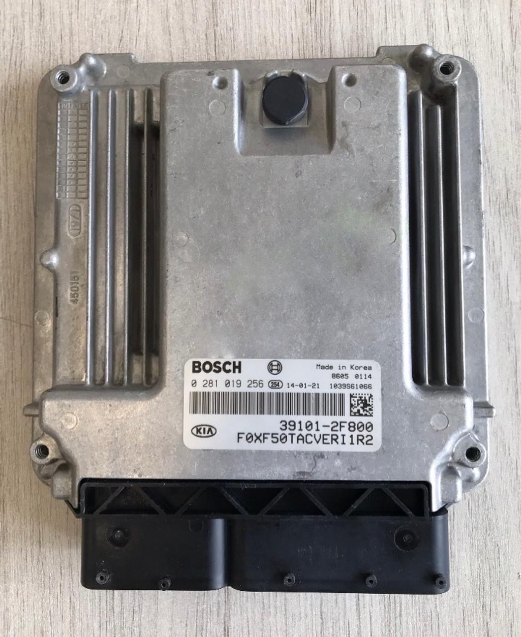 Bosch Engine ECU, Kia - Hyundai, 0281019256, 0 281 019 256, 39101-2F800, 1039S61066