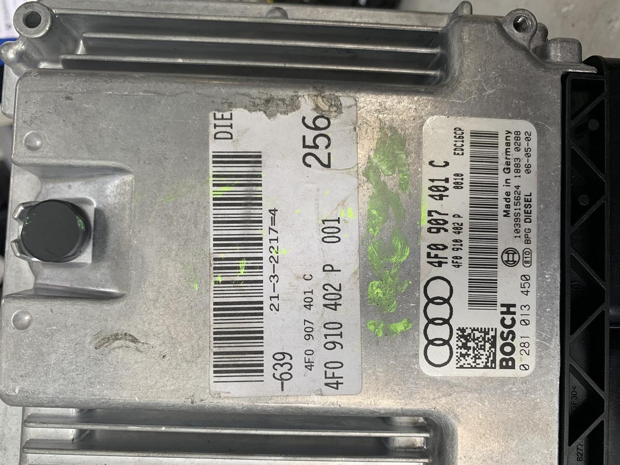 Audi, 0281013450, 0 281 013 450, 4F0907401C, 4F0 907 401 C, EDC16CP