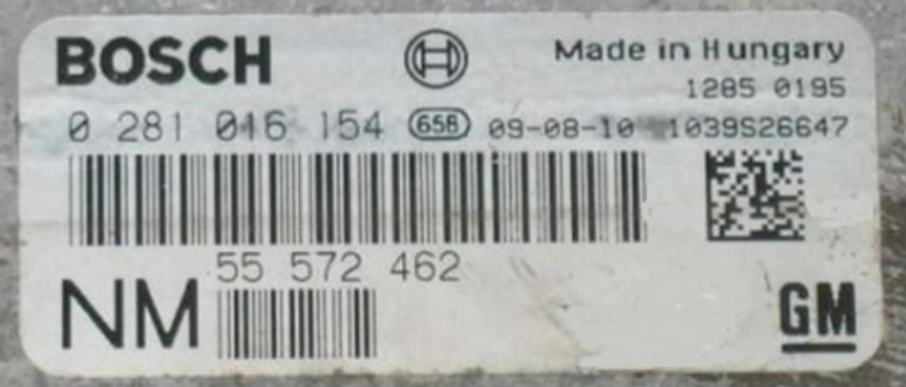 Saab 93 1.9TID, 0281016154, 0 281 016 154, 55572462, 55 572 462