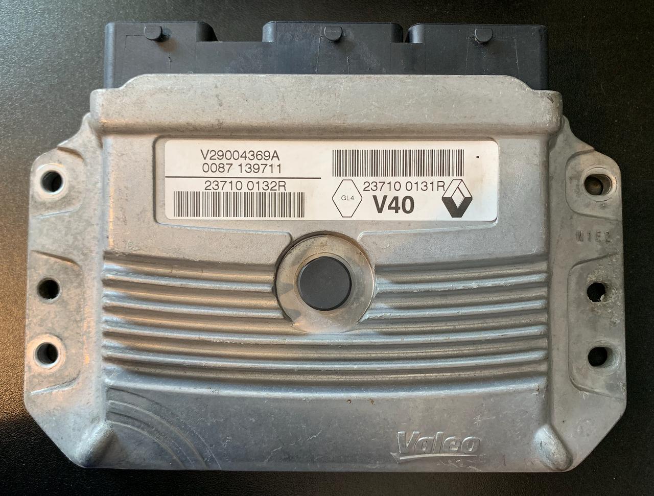 Renault Megane 1.6, V29004369A, 23710 0132R, 23710 0131R, V40