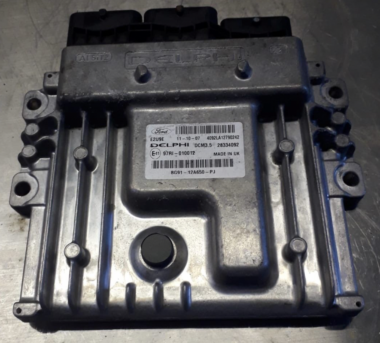 Ford, BG91-12A650-PJ, 28334092, DCM3.5