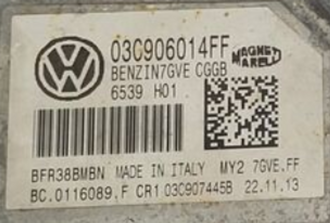 VW Polo 1.4, 03C906014FF, BC.0116089.F, 7GVE.FF