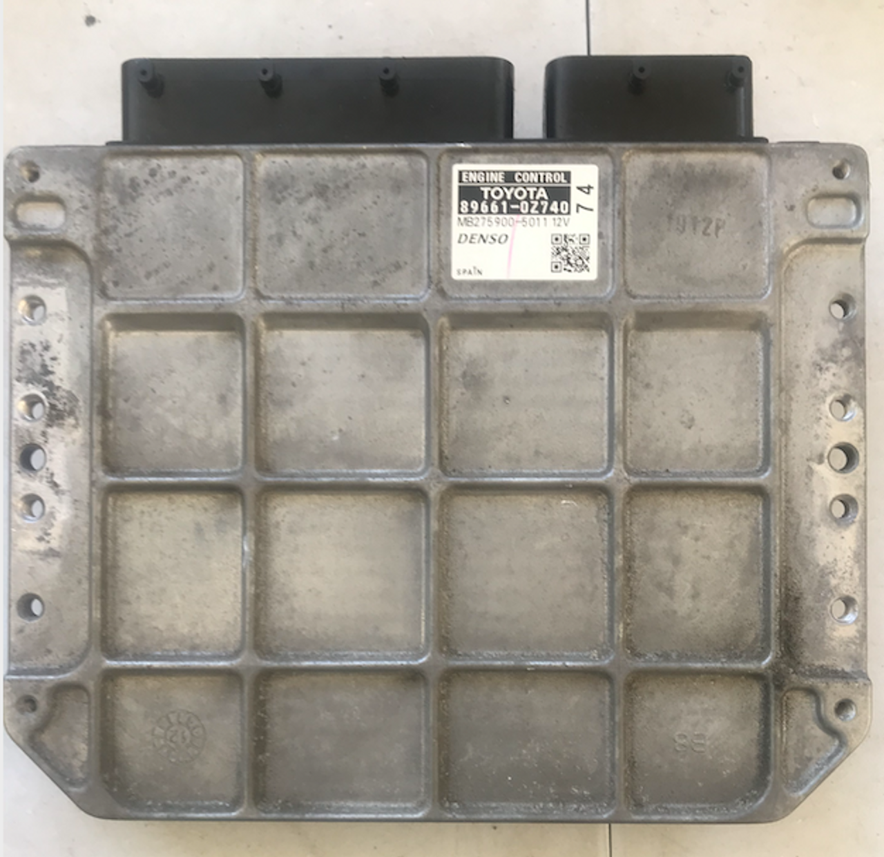 Denso Engine ECU, Toyota Auris, 89661-0Z740, MB275900-5011 12V, 74