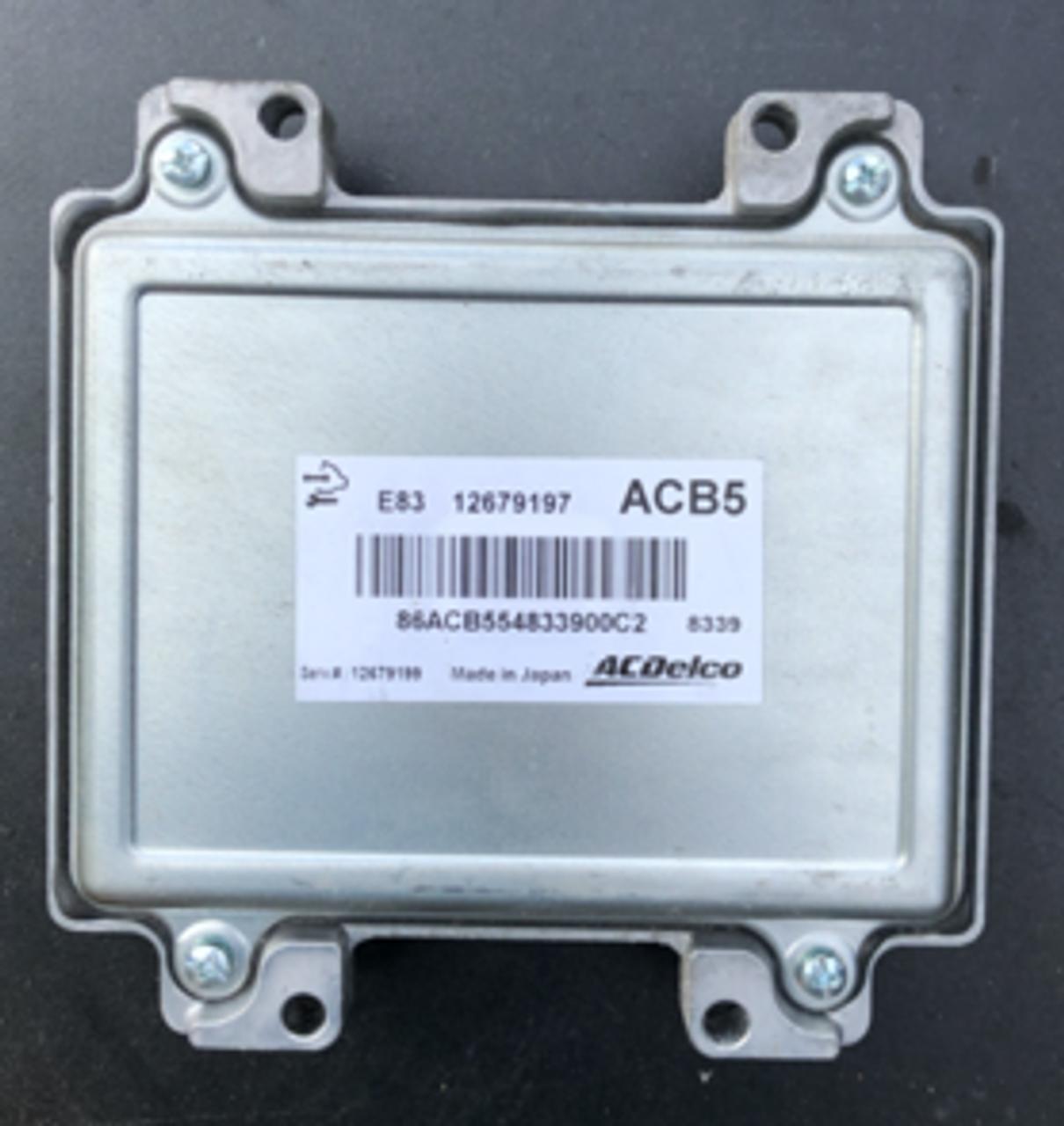 Corsa 1.4 Engine ECU, ACDelco, 12679197, ACB5, E83