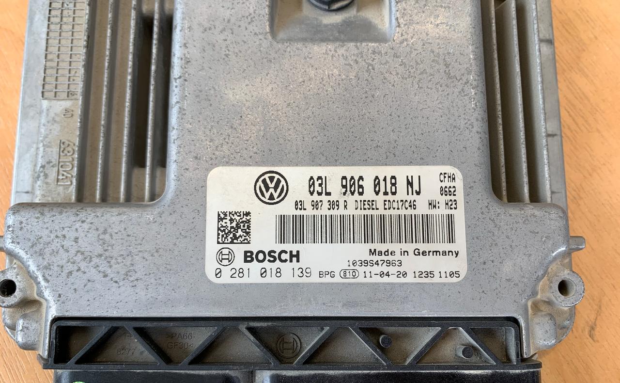 VW Caddy 2.0 TDI, 0281018139, 0 281 018 139, 03L906018NJ, 03L 906 018 NJ, EDC17C46, 1039S47963