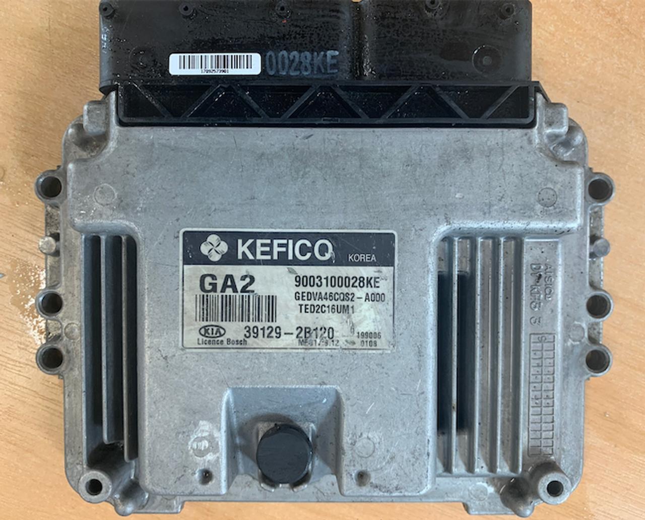 Kia/Hyundai, MEG 17.9.12, 9003100028KE, 39129-2B120, GA2