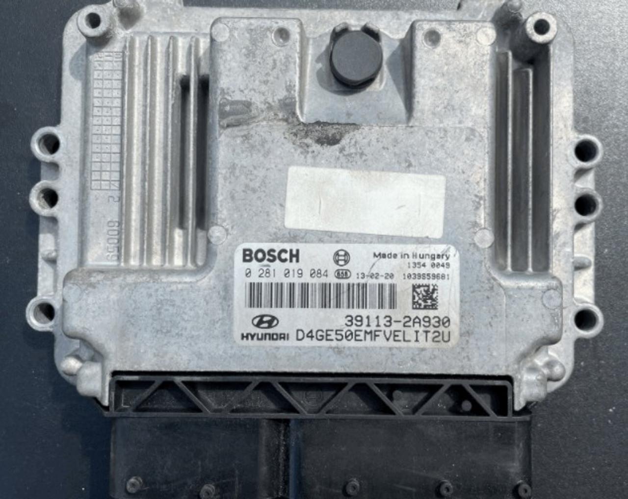 Plug & Play Bosch Engine ECU, Hyundai i30 1.6 CRDi, 0281019084, 0 281 019 084, 39113-2A930, 1039S54282,1039S59681