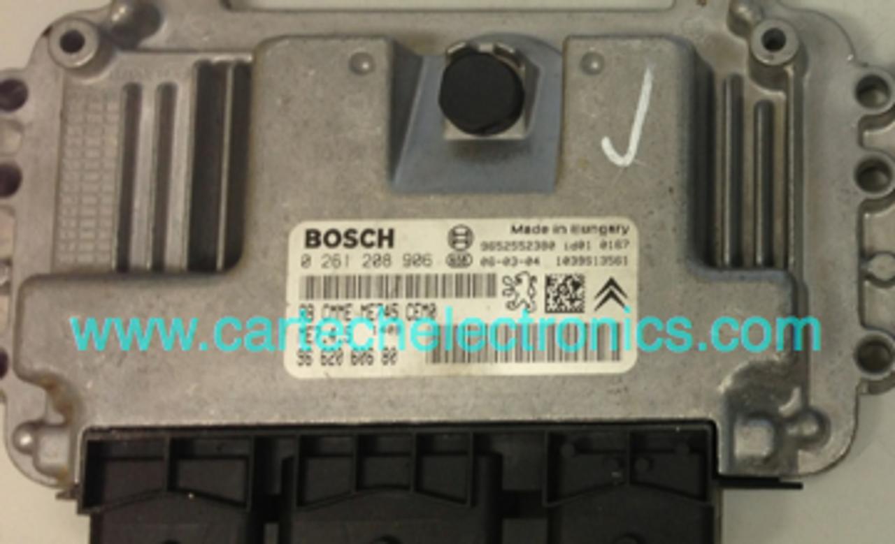 Plug & Play Engine ECU BOSCH 0 261 208 906 0261208906 9662060680 96 620 606 80 ME7.4.5