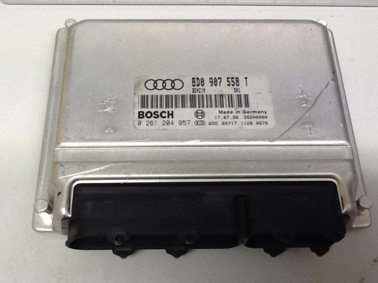 Plug & Play Engine ECU 0 261 204 957 8D0 907 558 T 0261204957 8D0907558T M3.8.4