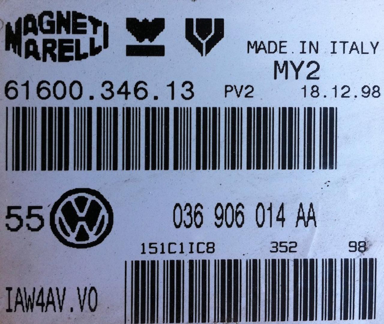 VW Polo 1.4L (AHW)  036906014AA  61600.346.13  IAW4AV.V0