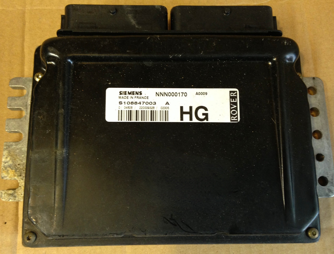 Rover 75 2.5L V6 (KV6), S108847003A, S108847003 A, NNN000170, HG