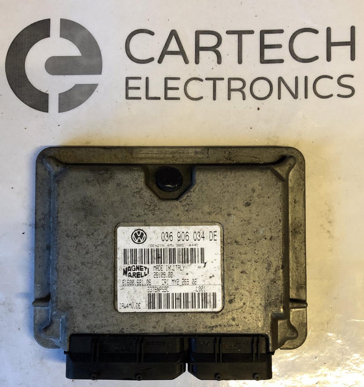 Plug & Play Engine ECU, VW Polo 1 4L, 036 906 034 DE, 036906034DE,  61600 612 03, IAW4MV DE