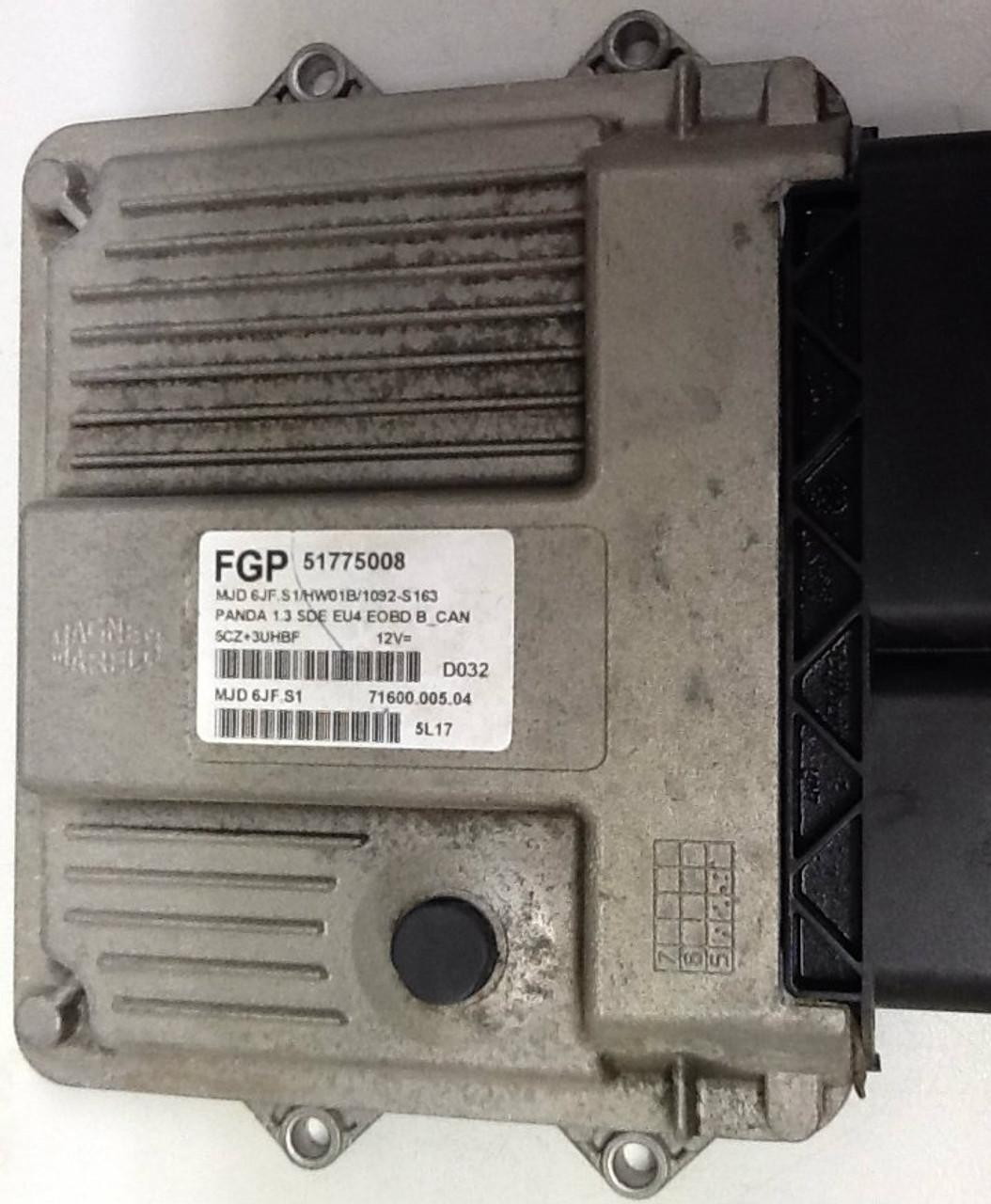 Fiat Panda 1.3 MJD 6JF.S1 71600.005.04 51775008 FGP
