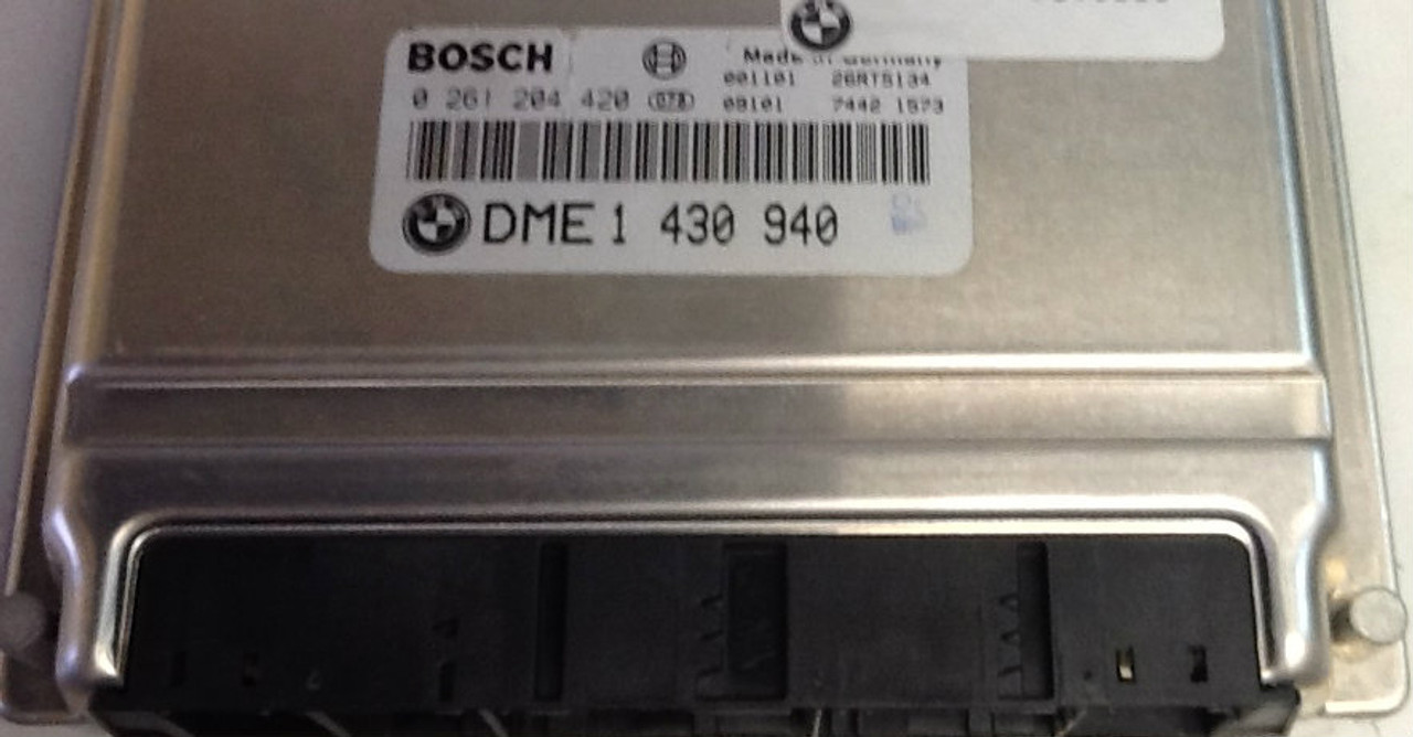 BMW 316i / 318i E46 0261204420 0 261 204 420 DME1430940 DME 1 430 940