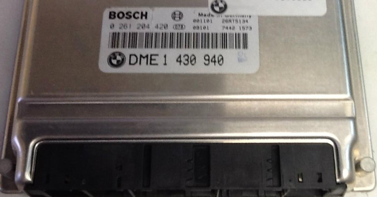 BMW 316i, 318i E46, 0261204420, 0 261 204 420, DME1430940, DME 1 430 940, 26RT5134