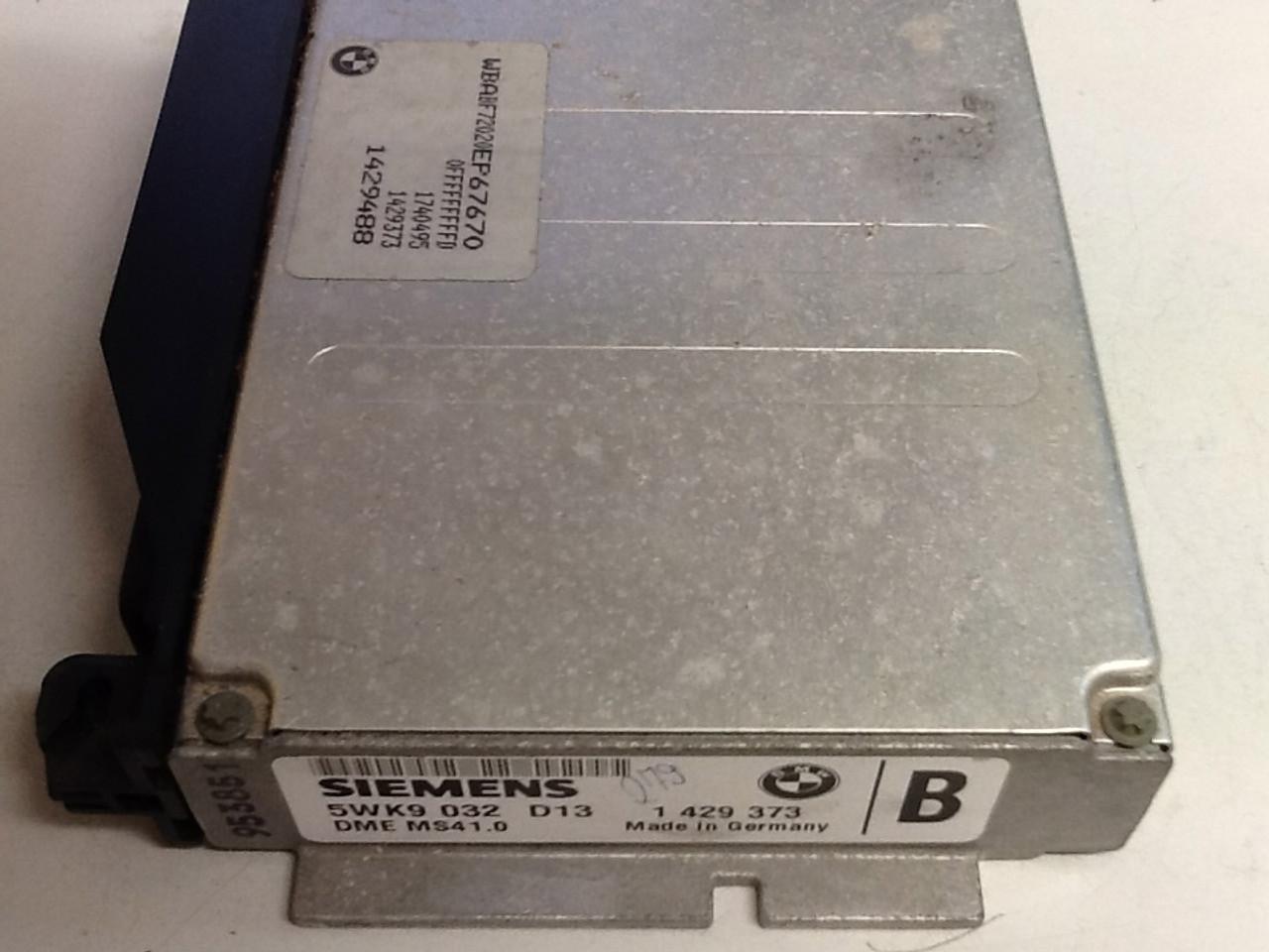 Plug & Play BMW  Engine ECU 1429373 5WK9032 DME MS41.0