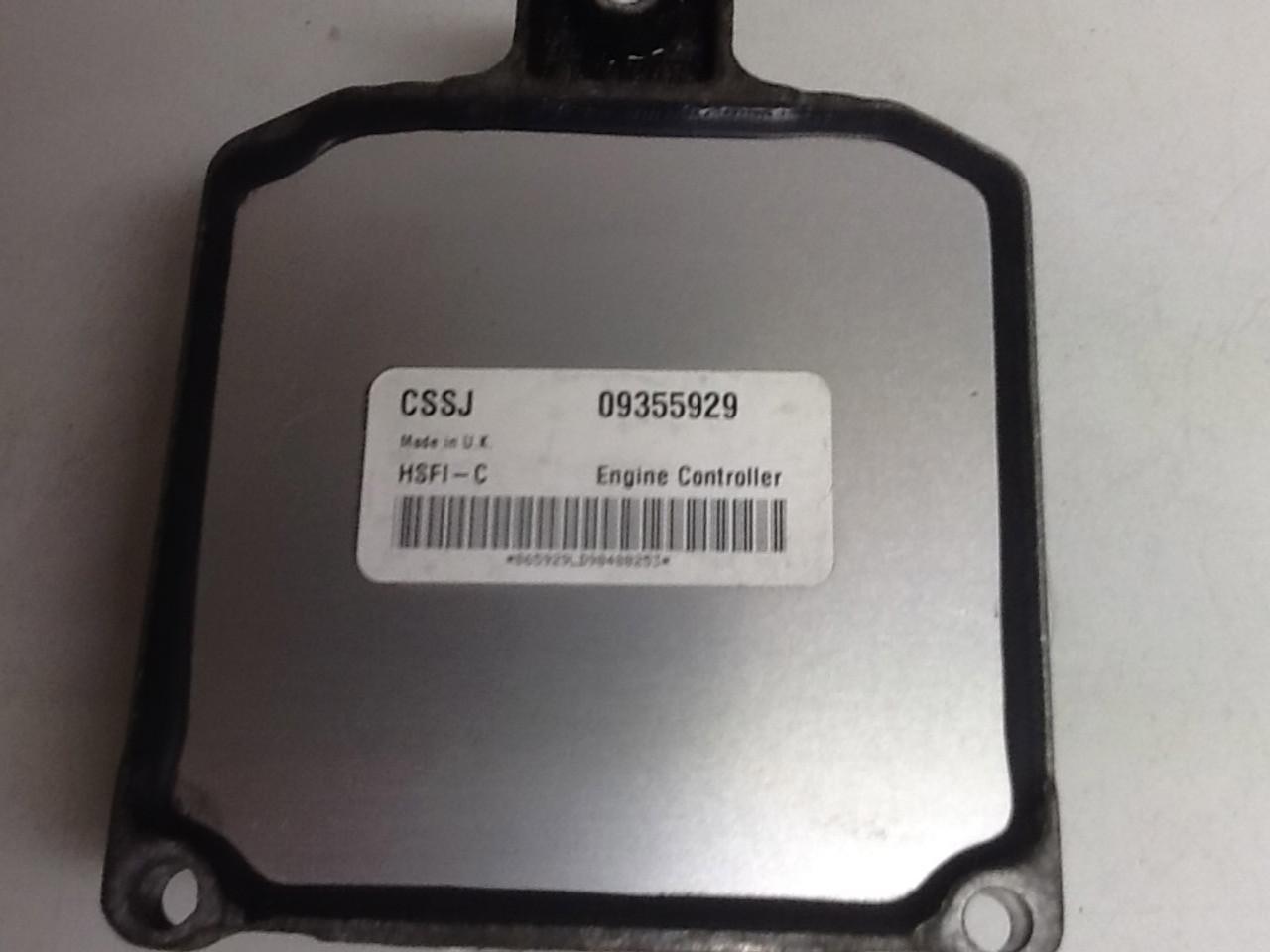 Astra G MK4 1.6L 16V 09355929 CSSJ HSFI-C