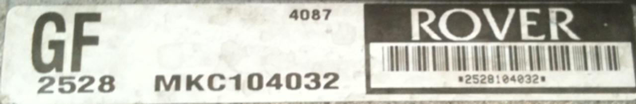 Plug & Play Rover Engine ECU M.E.M.S MKC104032 GF