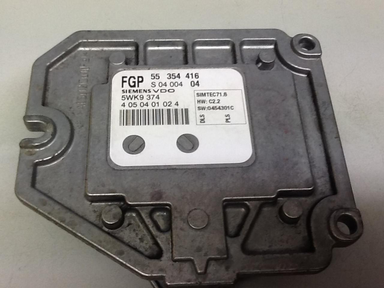 Siemens55354416 - 55 354 416S0400404 - S 04 004 045WK9374 - 5WK9 374SIMTEC71.6