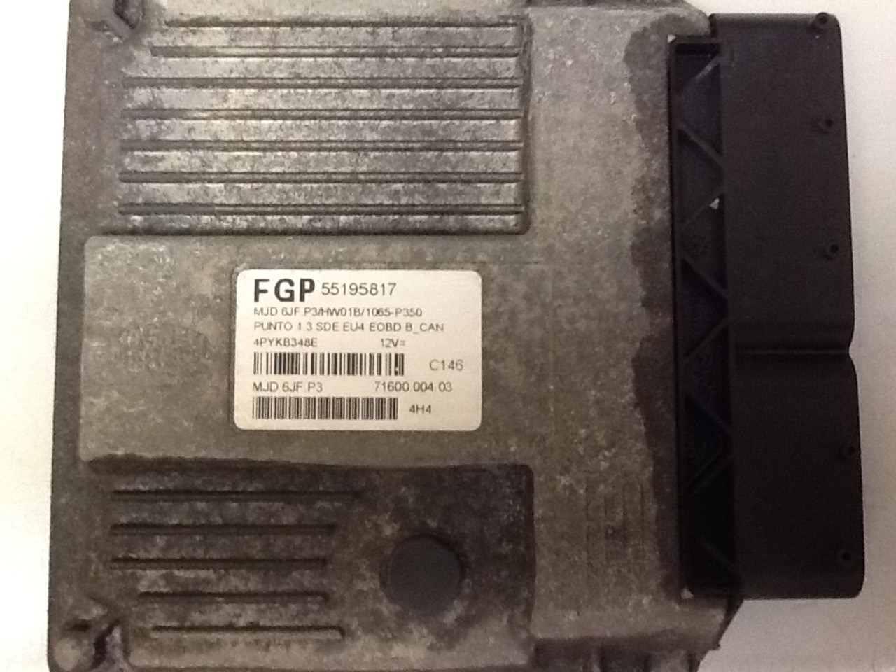 Plug & Play Fiat Engine ECU MJD 6JF.P3 71600.004.03 55195817 FGP