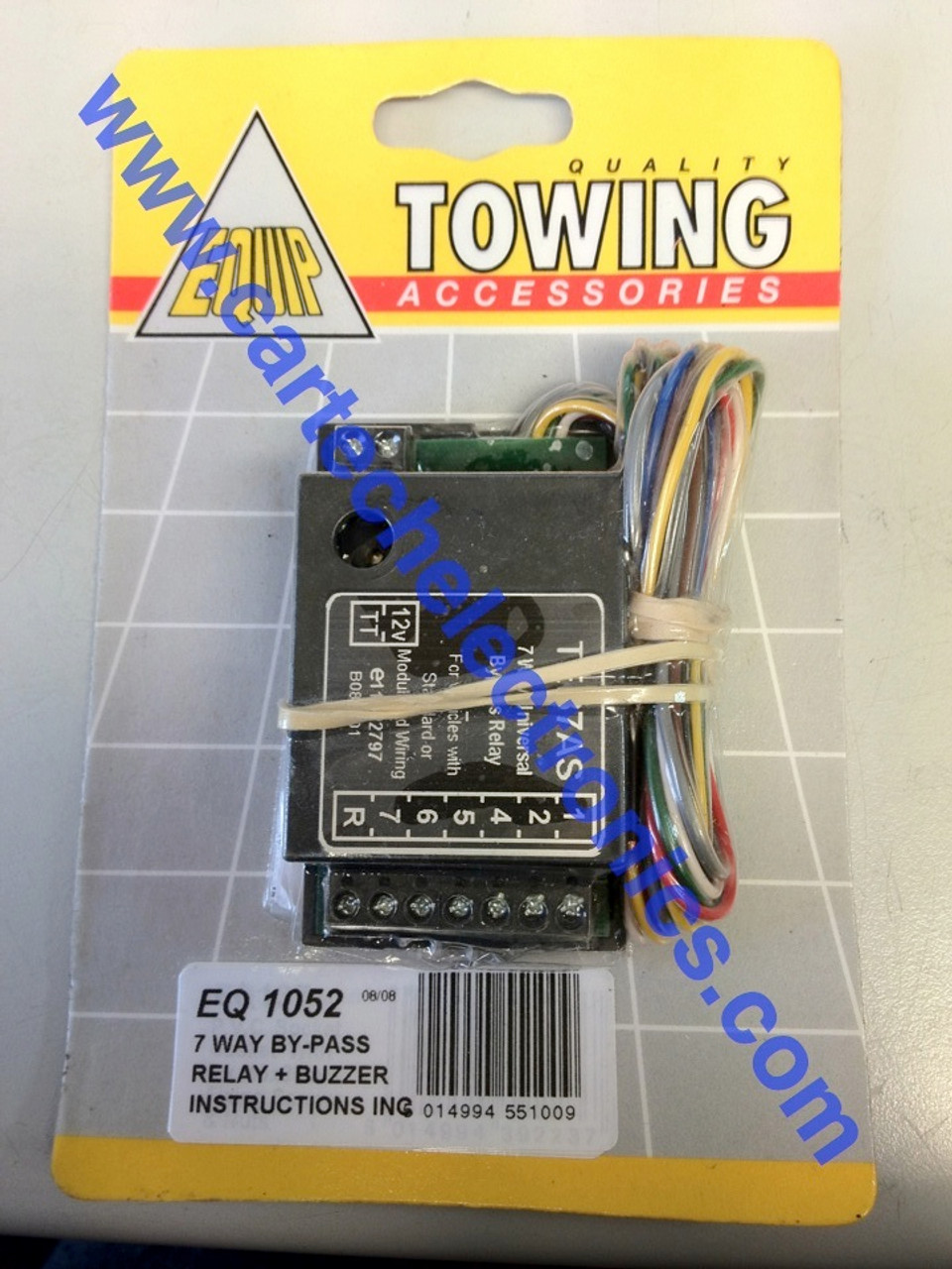 Towing Relay 7 Way By-Pass with Buzzer TEB7AS Towing Accessories