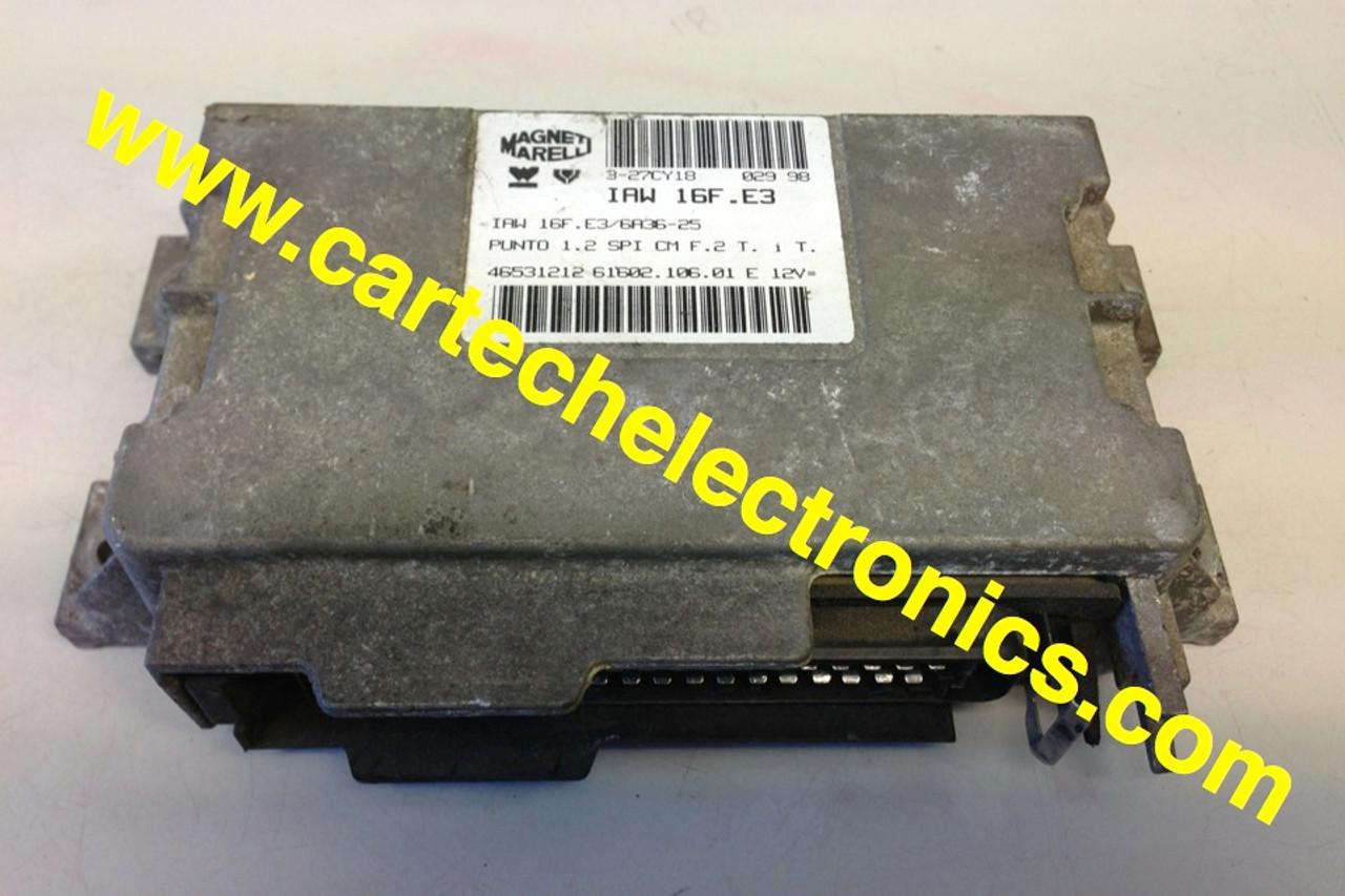 Plug & Play Unlocked Decoded Fiat Engine ECU IAW 16F.EB 61602.063.01