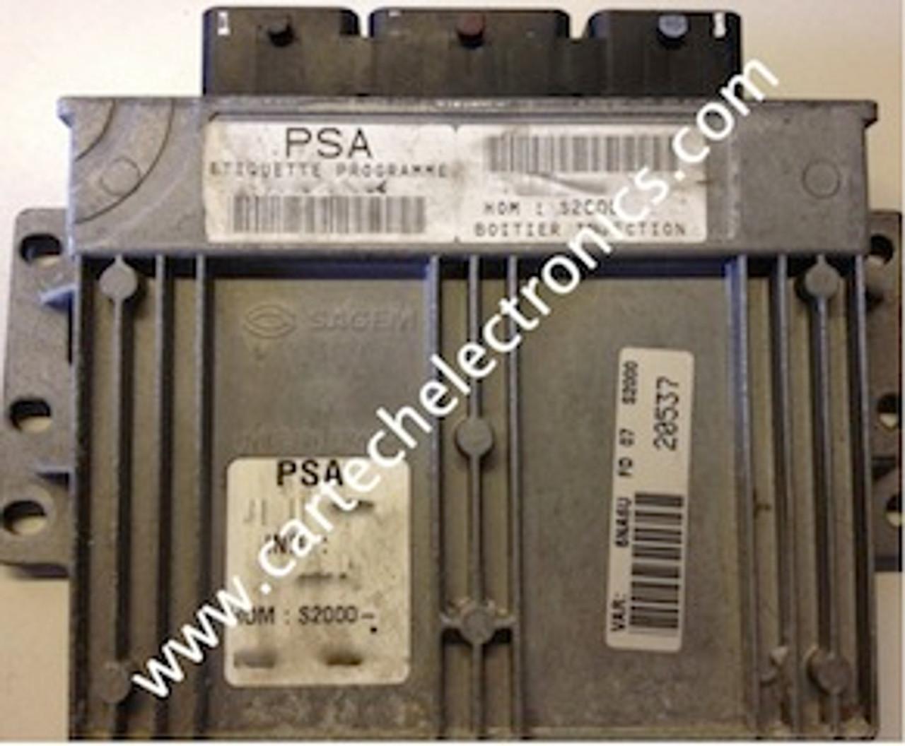 Plug & Play Engine ECU PSA S2000-1 9644486380 9643786680-01 21646328-9