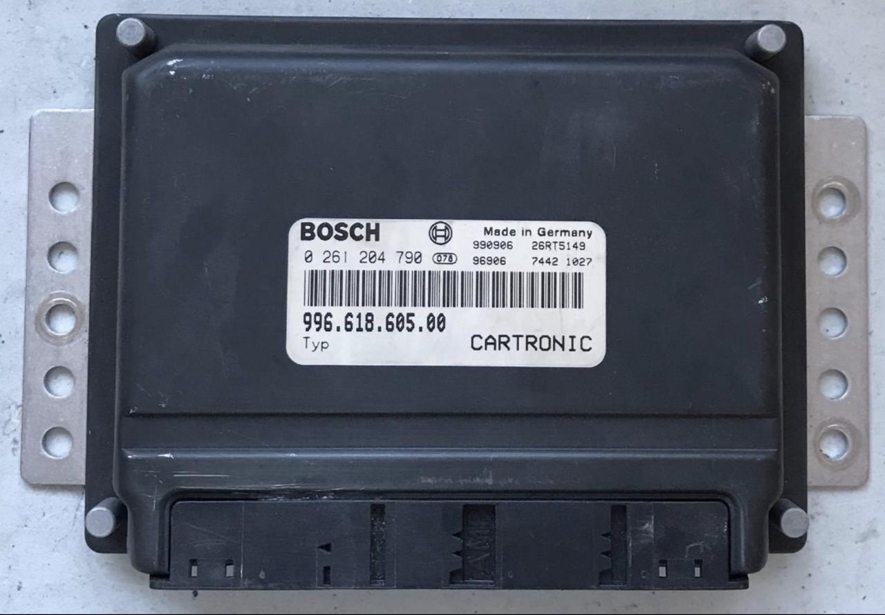 Plug & Play Bosch Engine ECU, Porsche Boxster 3 2 S, 0261204790, 0 261 204  790, 99661860500, 996 618 605 00