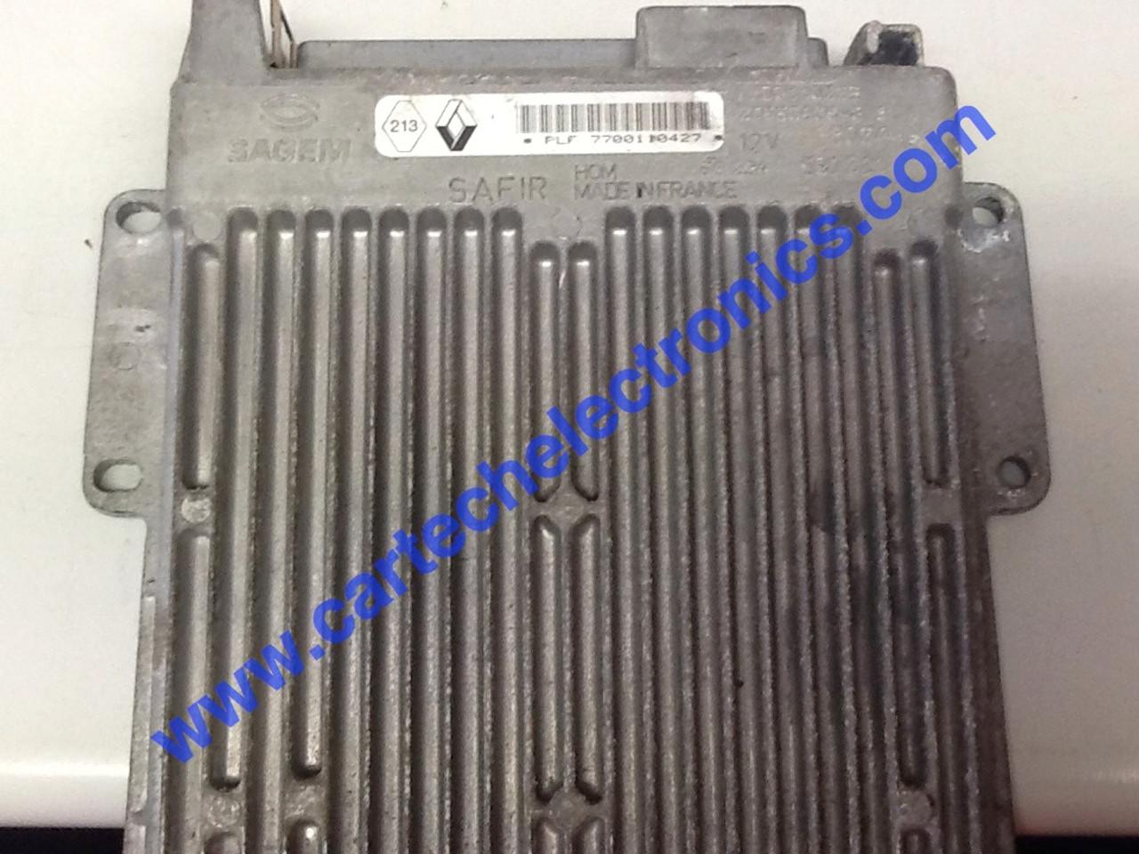 Plug & Play Unlocked Decoded Engine ECU PLF 7700110427