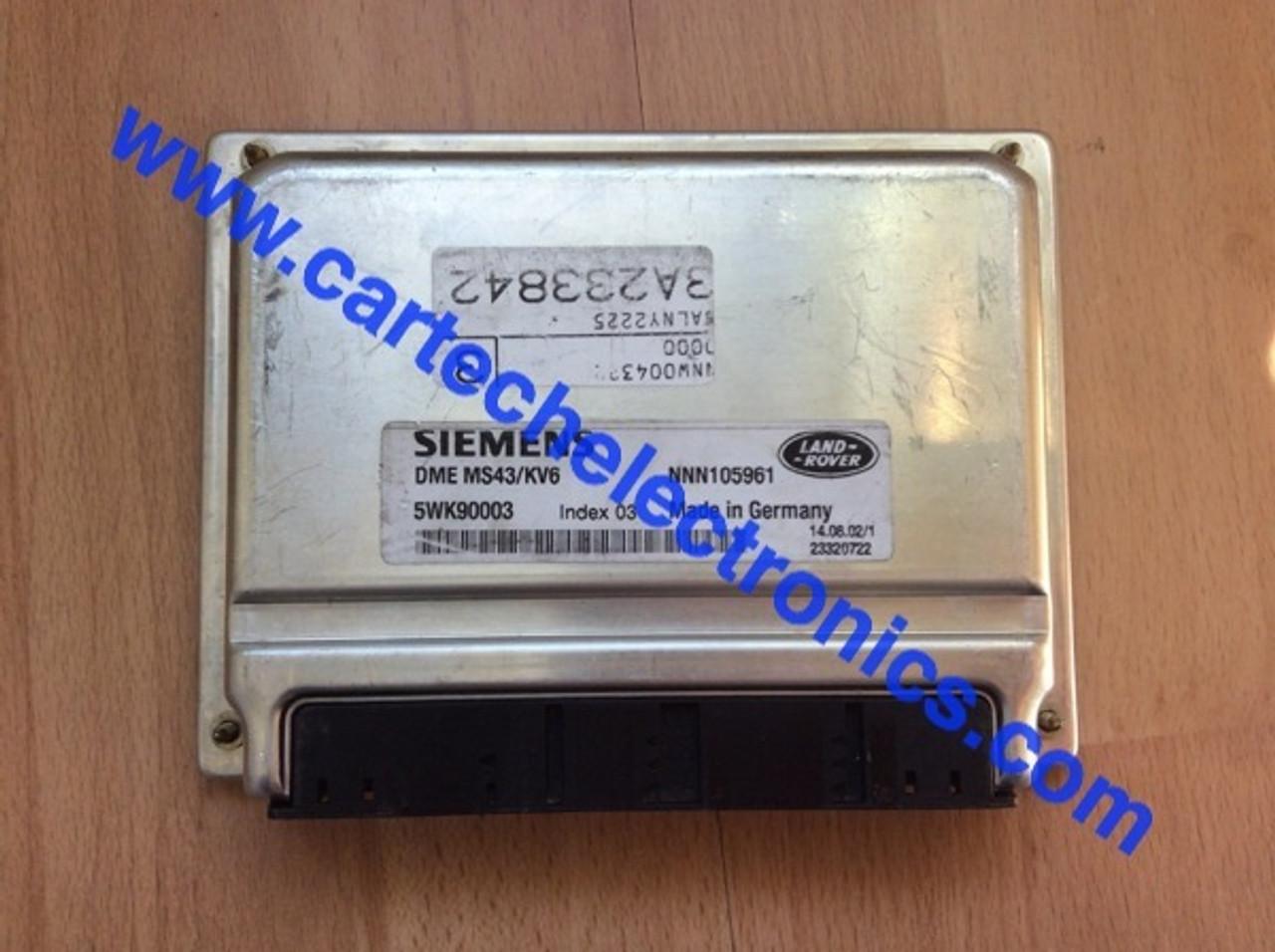 Plug & Play Siemens Engine ECU, Land Rover Freelander, DME MS43/KV6