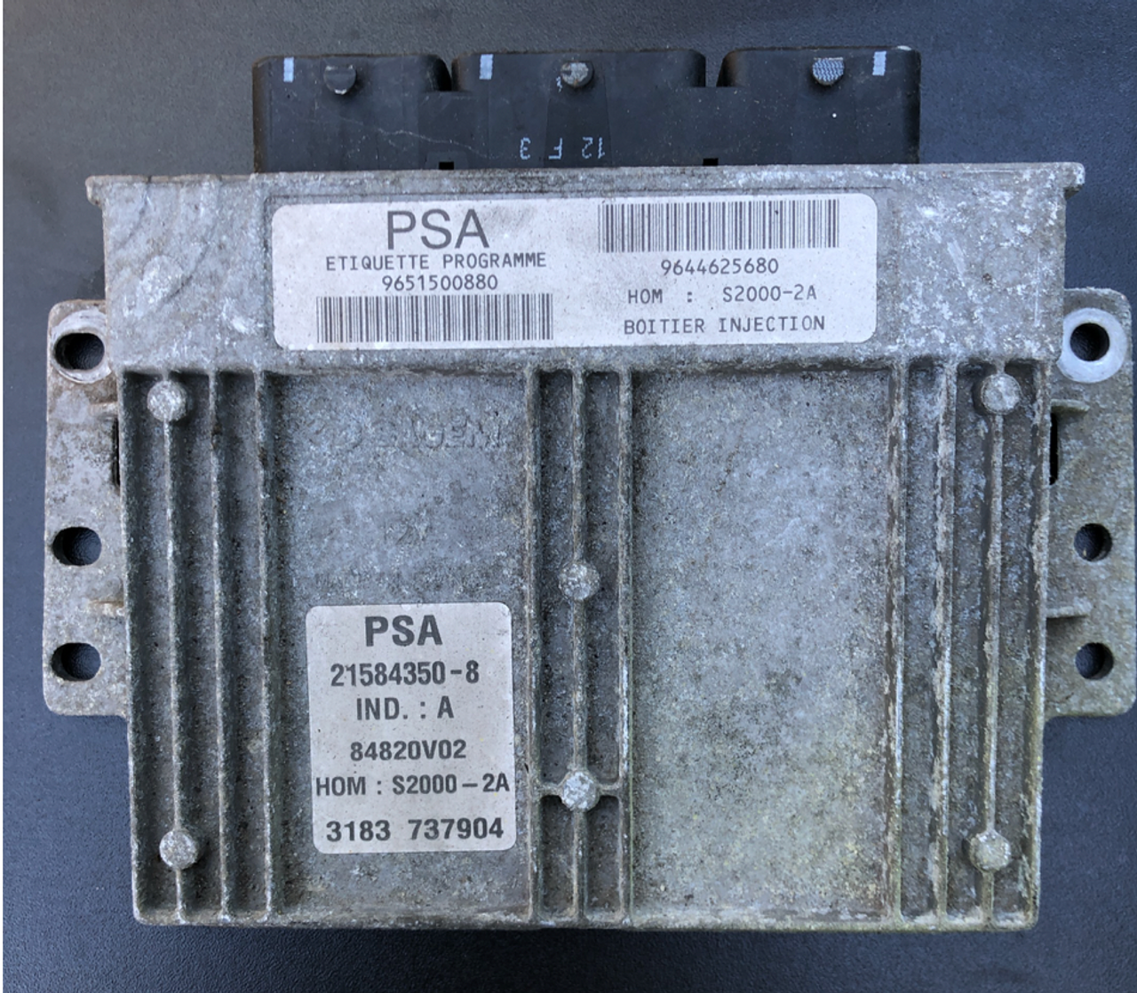 Sagem Engine ECU, PSA, Peugeot/Citroen, S2000-2A, 9651500880, 9644625680, 21584350-8