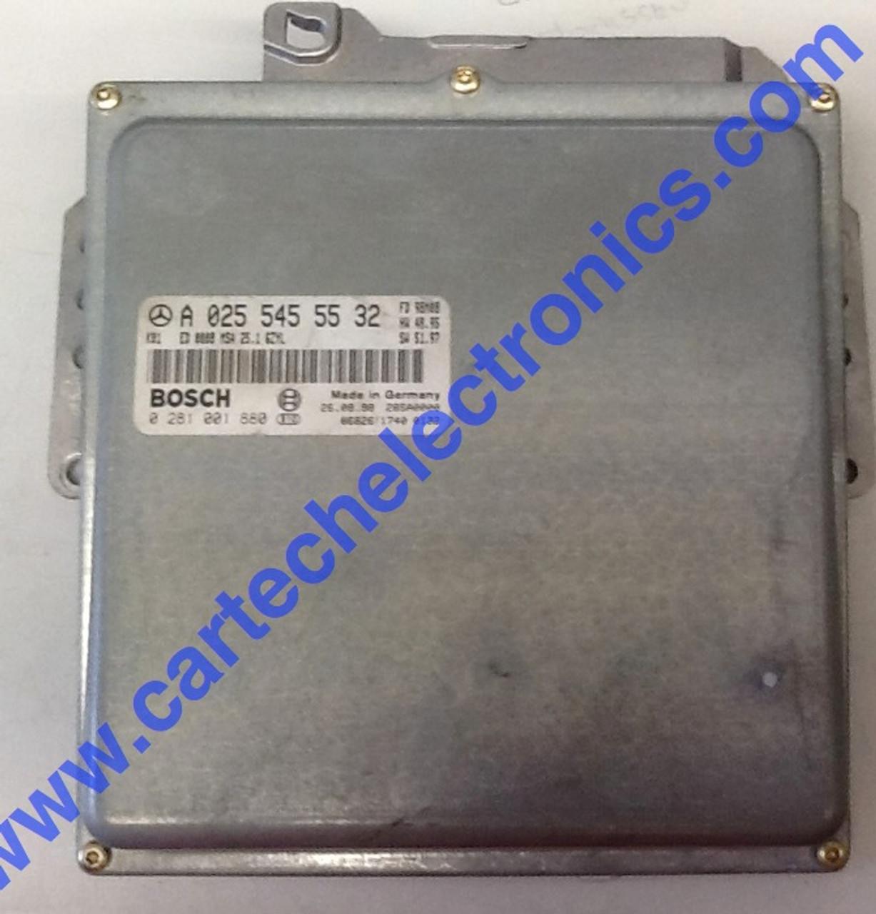 Plug & Play Mercedes Engine ECU 0281001880 A0255455532 MSA 25.1