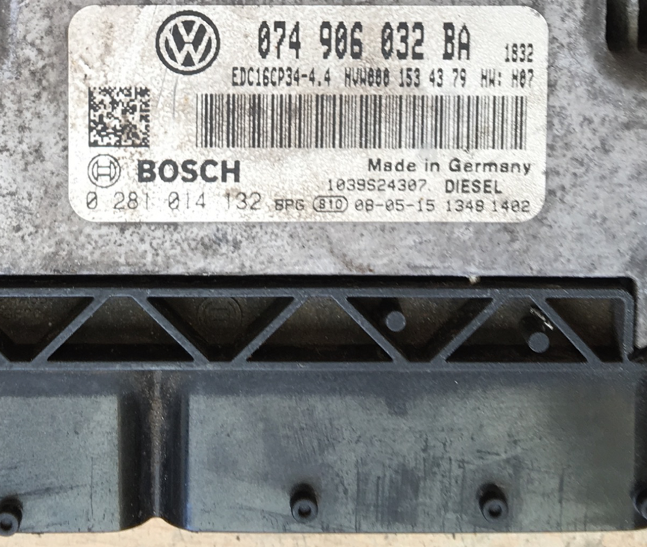 Plug & Play Bosch Engine ECU, VW Crafter 30 2 5 TDI, 0281014132, 0 281 014  132, 074906032BA, 074 906 032 BA, EDC16CP