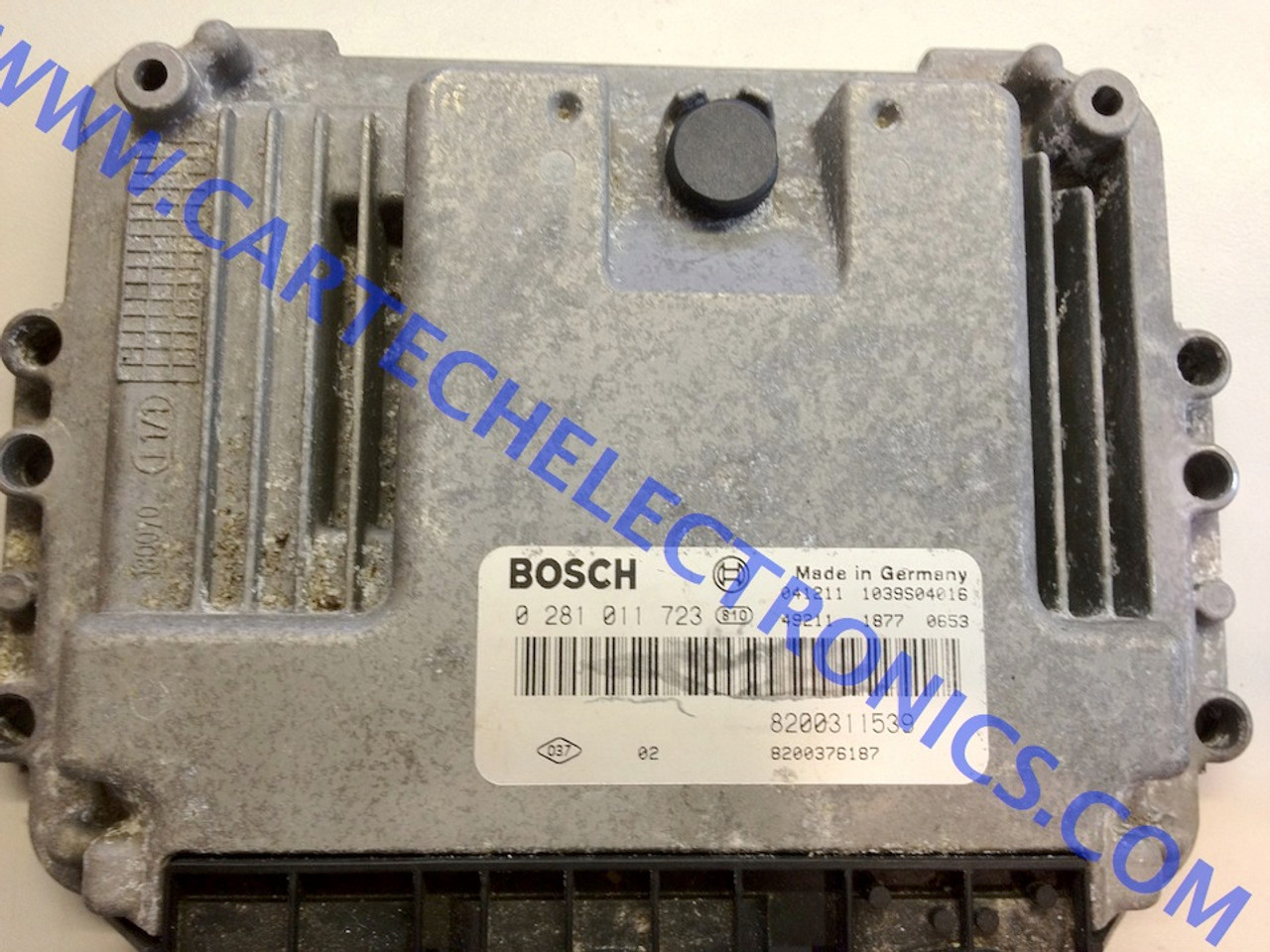 Plug & Play Bosch Engine ECU, Renault 1.9 DCi, 0281011723, 0 281 011 723, 8200311539, 8200376187